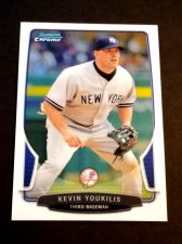 Buy MLB KEVIN YOUKILIS YANKEES SUPERSTAR 2013 BOWMAN CHROME #48 MNT
