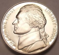 Buy 2000-S CAMEO PROOF JEFFERSON~EXCELLENT COIN~FREE SHIP~