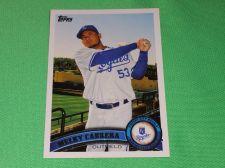 Buy MLB Melky Cabrera Kansas City Royals 2011 Topps Baseball GD-VG