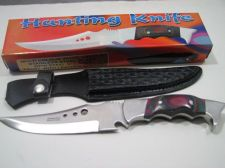 Buy Mult-Colour Wood Handle Hunting Knife 10''in