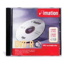 Buy Imation 8X DVD-R 4.7GB Recordable Disc With Case - 17157, 10 Pack