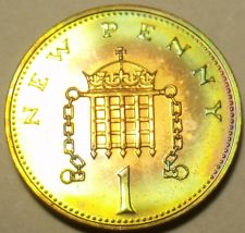 Buy Scarce Proof Great Britain 1979 Penny~Only 81,000 Minted~Proofs R Best~Free Shi
