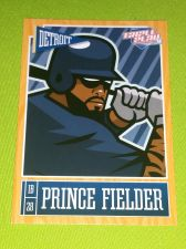 Buy MLB PRINCE FIELDER TIGERS SUPERSTAR 2015 PANINI TRIPLE PLAY #29 MNT