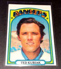 Buy VINTAGE TED KUBIAK RANGERS 1972 TOPPS #23 GD-VG