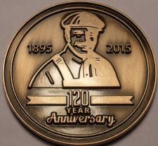 Buy Gem Unc Lennox 120th Year Anniversary Medallion~Awesome~Free Shipping