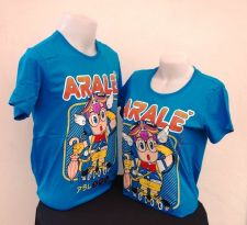 Buy Dr.Slump blue Cotton 100% T-Shirt Akira Tonyama,Shueisha, Toei Animation