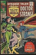 Buy Strange Tales #150 Dr. Strange / SHIELD Fine Jack Kirby Buscema Everett 1966