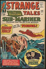 Buy Strange Tales #125 DR. STRANGE Marvel Comics 1964 1st Print Sub-Mariner, Thing+