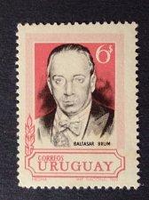Buy Uruguay 1v mnh stamp 1994 Michel1141 President Baltasar Brum