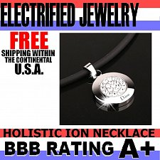 Buy ELECTRIFIED FEEL BETTER EJNP-D029 Pendant Necklace w 20 Clear Swarovski Crystals