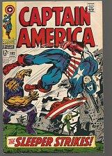 Buy Captain America #102 Marvel 1968 Jack Kirby Stan Lee
