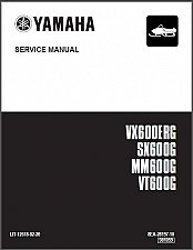 Buy 02-06 Yamaha Venture / Mountain Max / V-Max /SX 600 Snowmobile Service Manual CD