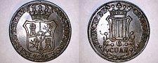 Buy 1841 Catalonia 6 Quartos World Coin - Spain - Isabel II