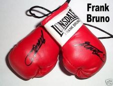 Buy Autographed Mini Boxing Gloves Frank Bruno