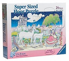 Buy Ravensburger 24 Piece Super Sized Floor Puzzle - Fairy Princess