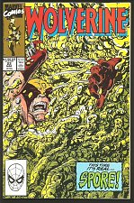 Buy WOLVERINE #22 Marvel Comics 1990 DIRECT Edition 1st Long Series VF+/NM- Byrne
