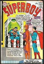 Buy SUPERBOY 120 DC Comics 1965 Silver Age Fine to VF- range