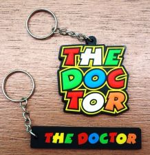 Buy THEDOCTOR KEYCHAIN KEYRING LOGO RUBBER MOTORCYCLE BIKE ,GIFT