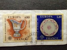 Buy France 2v used 1976 set Of Europa Stamps Thematic Europa CEPTS Scott1478-79