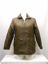 Buy Womens Puffer Coat SIZE S TUDOR COURT Solid Brown Faux Fur Collar Lined Zipper