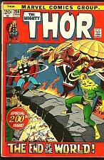 Buy THOR #200 Stan Lee Conway John Buscema 1972 RAGNAROK