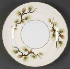 """Buy Vtg Narumi Shasta Pine 6 5/8"""" Bread & Butter Plate - Japan (408)"""