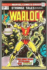 Buy Strange Tales 178 WARLOCK Jim Starlin 1st, Key GUARDIANS OF THE GALAXY Marvel
