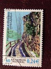 Buy Andorra, Spanish Administration used 1v set Stamp Nature Landscapes