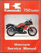 Buy 1983-1984-1985 Kawasaki 750 Turbo ( GPZ750 ) Service Manual on a CD