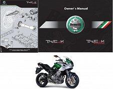 Buy 06-16 Benelli Tre 1130 K Service Repair Workshop & Parts Manual CD - TreK 1130