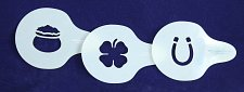 Buy Sewing/Painting- Irish Stencil Set -3 pcs-14 mil Mylar Template/Crafts