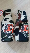 Buy (2) Cincinnati Bengals Camo Zipper Bottle Koozies (405)
