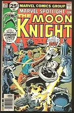 Buy Marvel Spotlight #29 on Moon Knight Marvel Comics .25c Moench Perlin VF