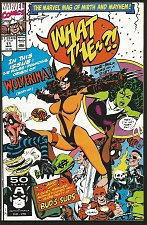 Buy WOLVERINA in WHAT THE ?! # 11 multitude of creators 1991