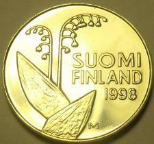 Buy Finland 1998 10 Penni Unc