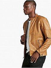 Buy New Lucky Brand Thruxton Leather Jacket Men's Sz XL