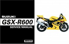 Buy 2006-2007 Suzuki GSX-R600 Service Manual on a CD