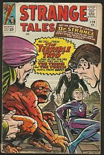 Buy Strange Tales #129 DR. STRANGE Marvel Comics STEVE DITKO 1965 Thing & Torch