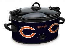 Buy Chicago Bears NFL Crock Pot Cook And Carry Slow Cooker 6 Quart
