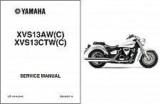 Buy 2007-2008-2009-2010 Yamaha XVS13 V-Star / Tourer 1300 Service Manual on a CD
