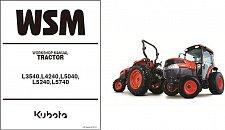 Buy Kubota L3540 L4240 L5040 L5240 L5740 Tractor WSM Service Workshop Manual CD