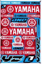 Buy New All Yamaha Motorcycle Racing Bike Vinyl Decals/Stickers Blue Red