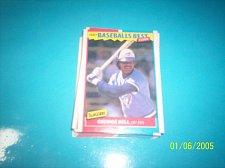 Buy 1987 Fleer Baseballs Best Sluggers Vs Pitchers GEORGE BELL #3 FREE SHIP