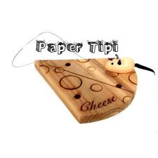 Buy small Cheese board with mouse and cheese wire cute quirky