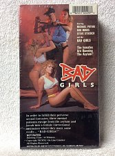 Buy BAD GIRLS VHS Michael Pataki Bob Minos Steve Stucker - new factory sealed 1990