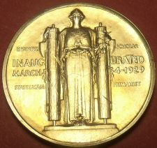 Buy Gem Unc Herbert Hoover Presidential Bronze Inauguration Medallion~Free Shipping