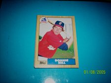 Buy 1987 Topps Traded Baseball CARD OF DONNIE HILL WHITE SOX #T47 MINT