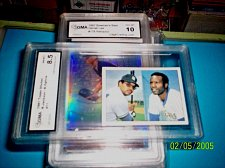 Buy 1981 Topps Stickers # 11 Reggie Jackson/ B. Oglive GMA GRADED Mint 8.5
