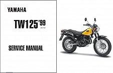 Buy 1999-2004 Yamaha TW125 Service Repair Workshop Manual CD --- TW 125