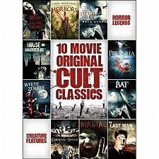 Buy 10movie 2 DVD Night of the Living Dead Carnival of Souls PIRANA White Zombie